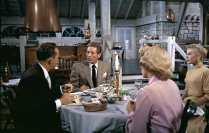 Bing Crosby, Danny Kaye, Rosemary Clooney, and Vera Ellen in White Christmas (1954)