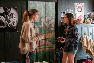 Rose Byrne and Isabela Moner in Instant Family from Paramount Pictures.