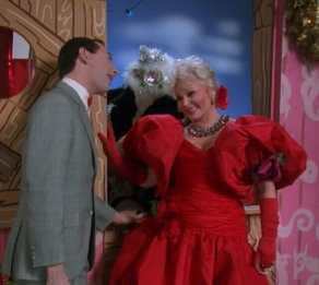 pee wee christmas special zsa zsa pee wee