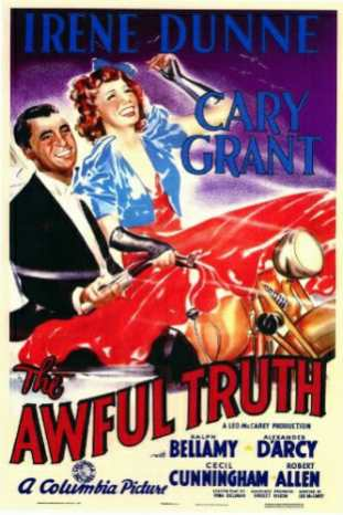 awful truth poster