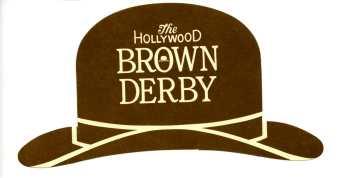 Brown Derby Menu002