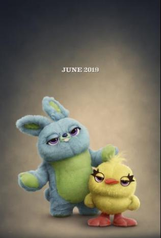 ToyStory4 Duck and Bunny Poster