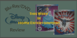 Dumbo and Cinderella Blu-ray Release