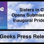 Sisters In Crime Opens Submission for the Inaugural Pride Award