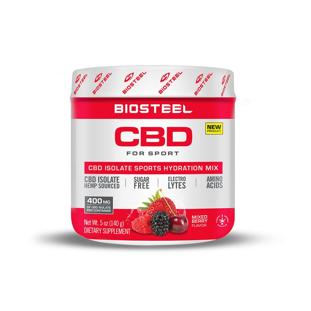 BioSteel CBD Isolate Sports Hydration Mix Mixed Berry