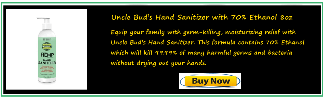 uncle buds hand sanitizer