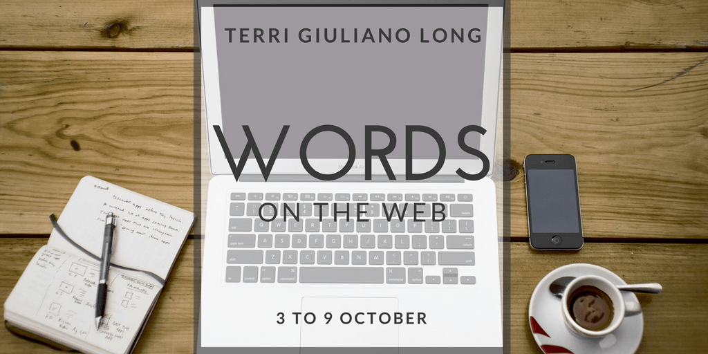 Storify Recap: Words on the Web: 3 to 9 October