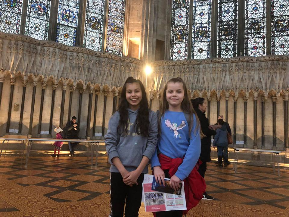 York Minster visit