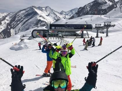 Easter School Ski Trip fun!
