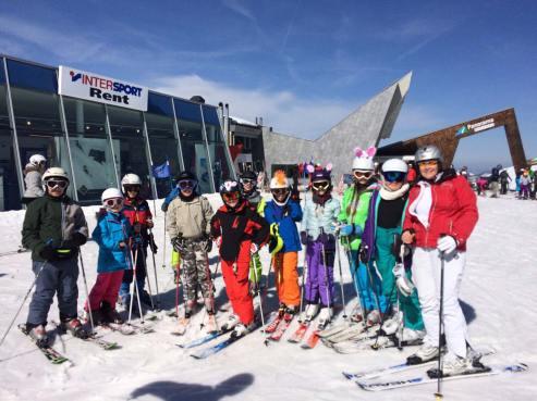 school ski trip