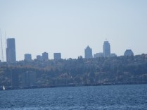 Seattle in distance