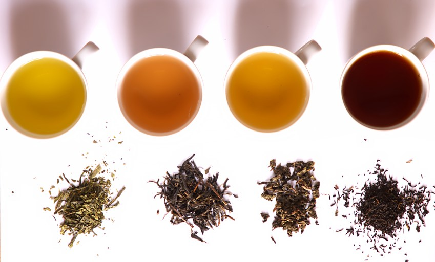 tea_in_different_grade_of_fermentation