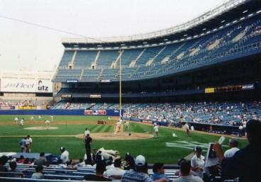 1998 Yankee Stadium Haze