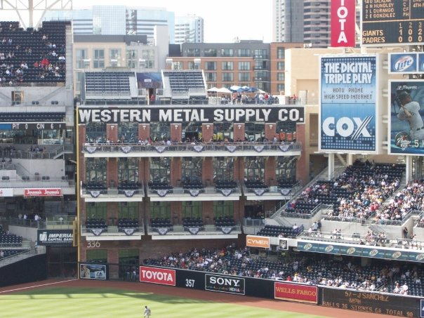 Underrated MLB Ballparks Western Metal Supply Company Petco Park