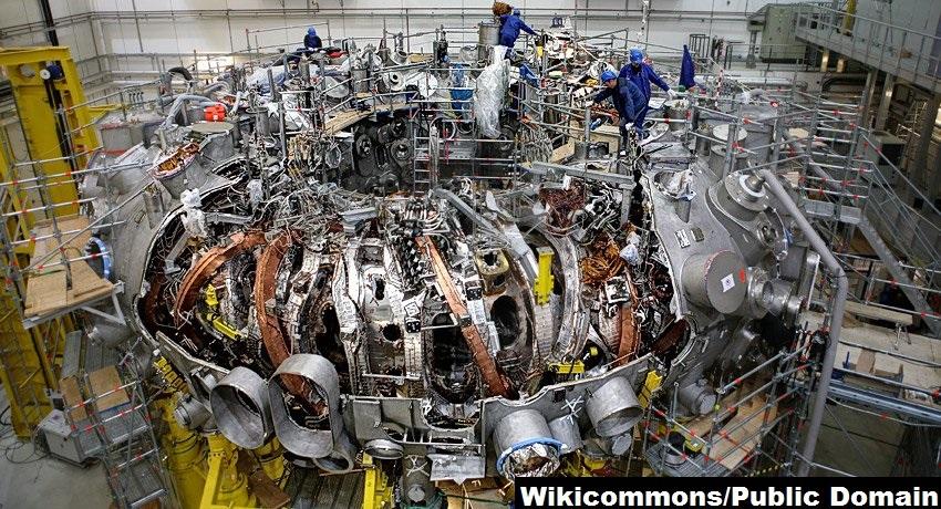 a nuclear fusion reactor