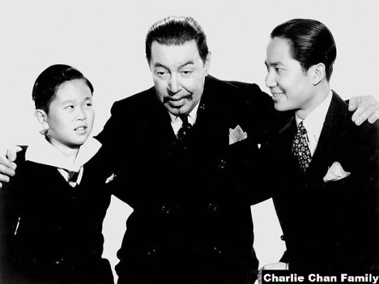 Keye Luke The Chan Family