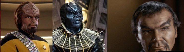 Three types on Klingons - Star Trek: Discovery