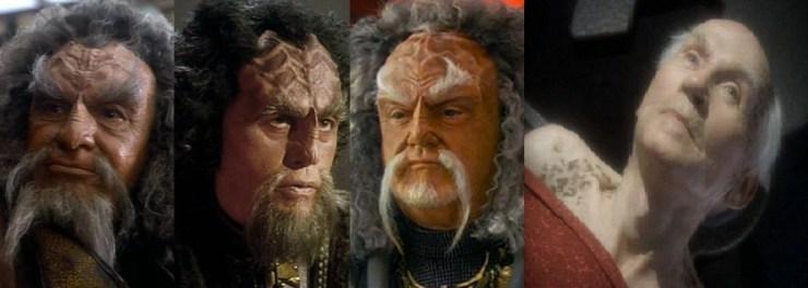 Mirror Universe Captain Lorca, Klingon Dahar Master and Curzon Dax