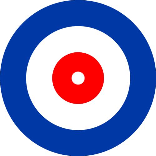 A house design, similar to a bullseye