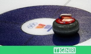 Olympic curling