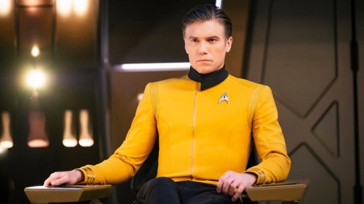 Anson Mount as Captain Christopher Pike