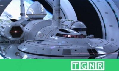 NASA Alcubierre Warp Drive Concept Image