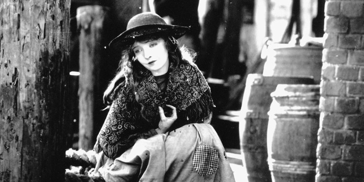 Lillian Gish in D.W. Griffith's Broken Blossoms