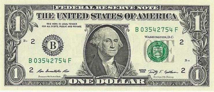 George Washington $1