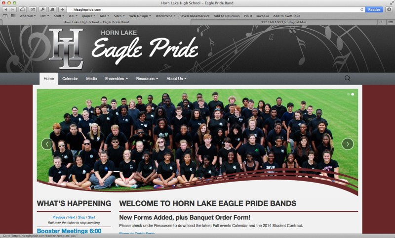 Horn Lake Eagle Pride Band