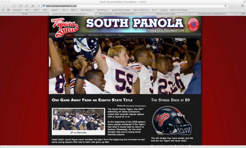 South Panola Athletics Foundation