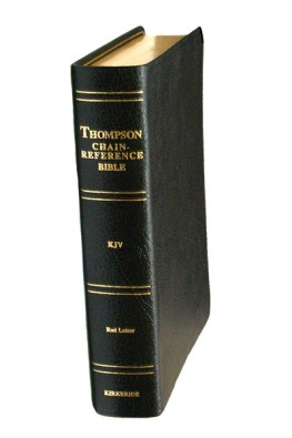 Thompson Chain Reference Bible | Handy Size | Genuine Leather