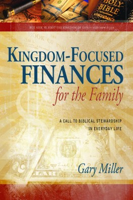 Kingdom Focused Finances for the Family