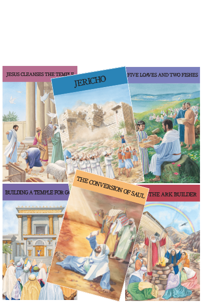 Bible Story Picture Posters - TGS International