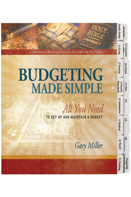 Budgeting Made Simple insert only