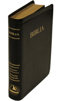 Romanian Bible Bonded Leather red letter edition