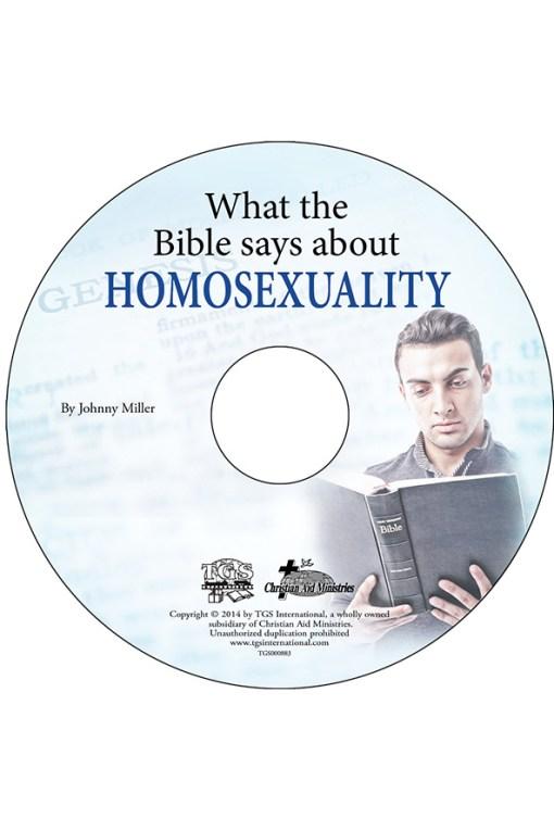 What the Bible Says About Homosexuality CD