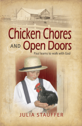 Chicken Chores and Open Doors