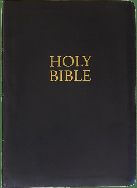 KJV Giant Print Bible | Black | Imitation Leather