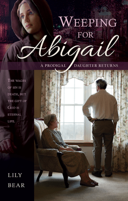 Weeping for Abigail