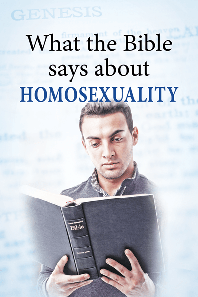 What the Bible says about Homosexuality pamphlet
