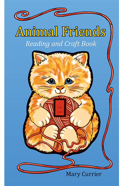 Animal Friends Reading & Craft Book