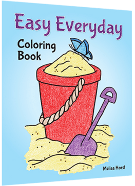 Easy Everyday Coloring Book