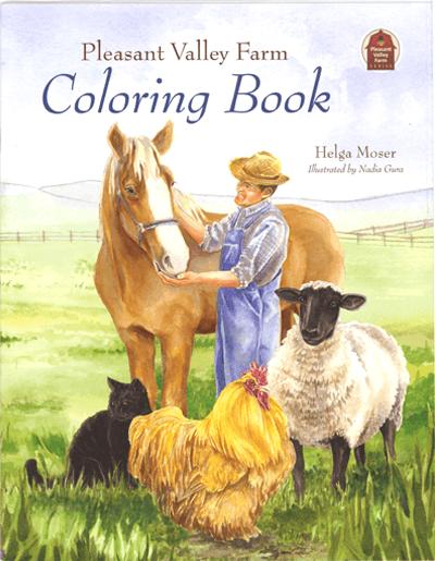 Pleasant Valley Farm Coloring Book