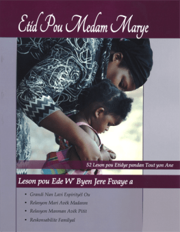 Creole Mother's Study Book