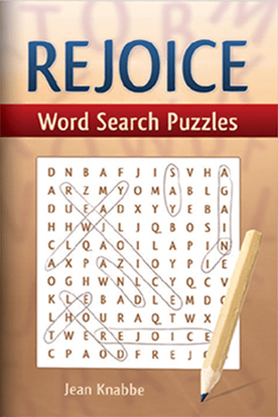 Rejoice Word Search Puzzle