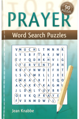 Prayer Word Search Puzzle