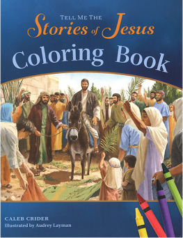 Tell Me the Stories of Jesus Coloring Book