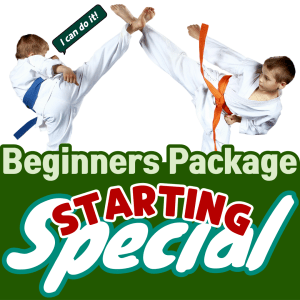 beginners package special starting