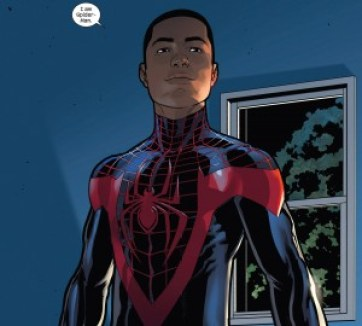 Miles Morales is Spiderman. Too.