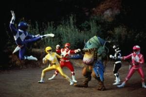 Danger abound! Original Power Ranger-styles.